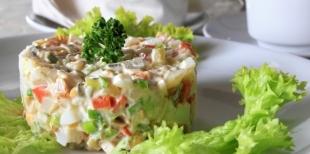 Как приготовить классический салат «Оливье»