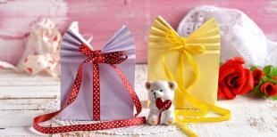 Как  легко изготовить красивую упаковку для подарка ко Дню святого Валентина