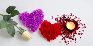 Как сделать сердечко в технике торцевания