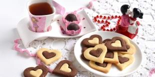 Как приготовить оригинальное печенье ко Дню Святого Валентина