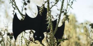 Как сделать летучих мышей из бумаги на Хэллоуин