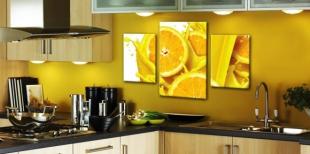 Модульные картины для кухни