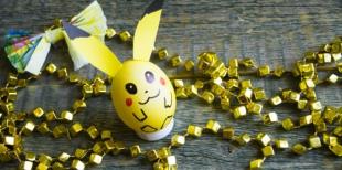 Как сделать пасхальное яйцо Покемона