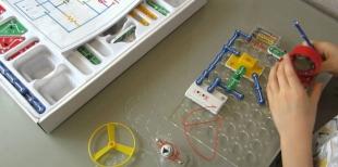 Электронный конструктор – детская развивающая игрушка