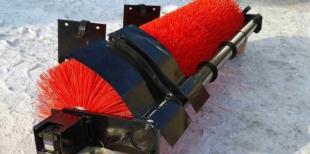 Щёточное оборудование для КДМ