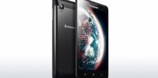 Краткий обзор телефона Lenovo P780