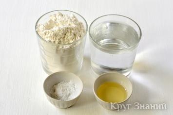 Заварное тесто для вареников и пельменей - рецепт с фото