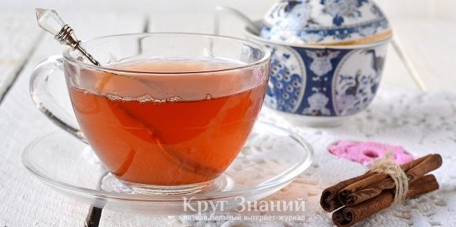 Как приготовить чай с корицей и медом