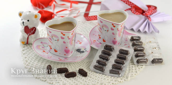 Как изготовить подарок-шутку шоколад в виде таблеток ко Дню Святого Валентина