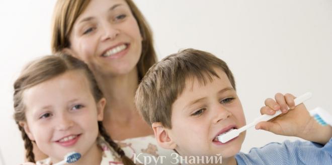 Основные ошибки при чистке зубов