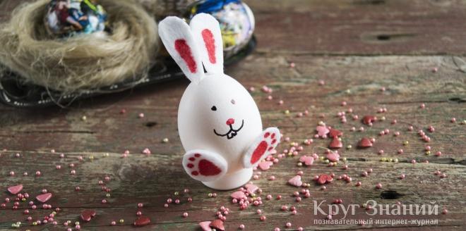 Как сделать кролика из яйца фото 26