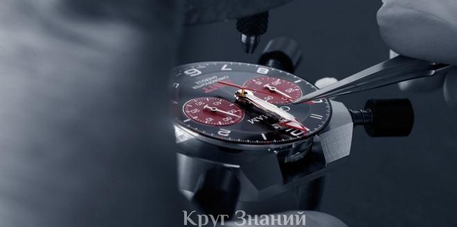 Виды ремонта современных швейцарских часов