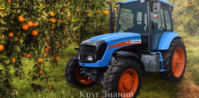 Популярные модели тракторов