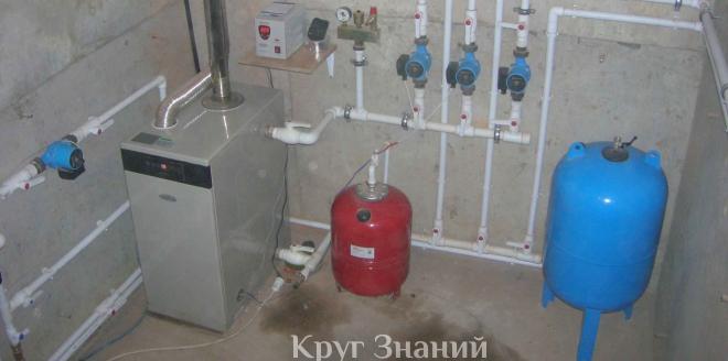 Установка грязевика в систему отопления
