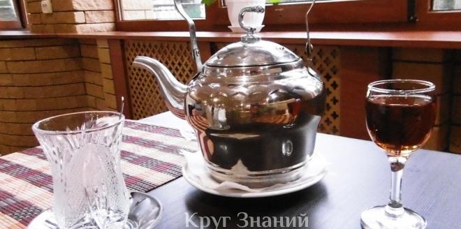 Чай с водкой