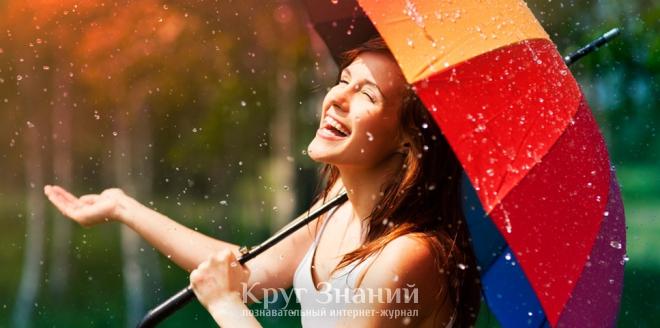 Преимущества зонта-трости